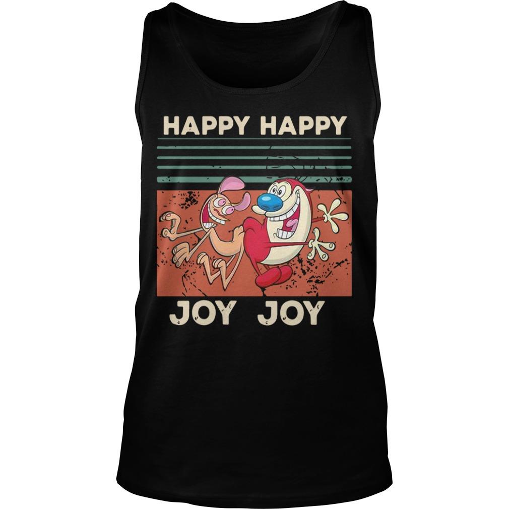 Vintage Happy Happy Joy Joy Tank Top