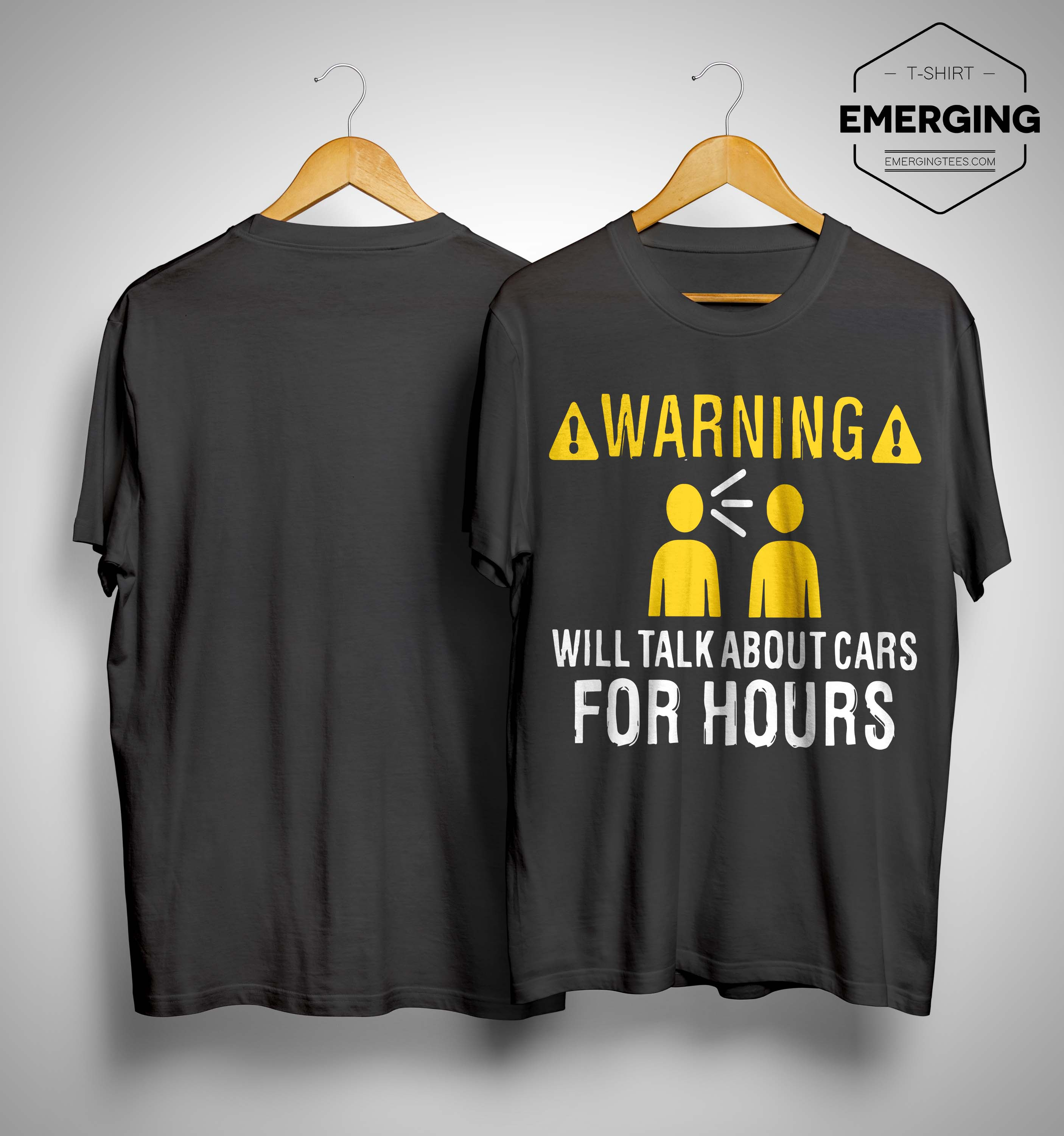 Warning Will Talk About Carbs For Hours Shirt