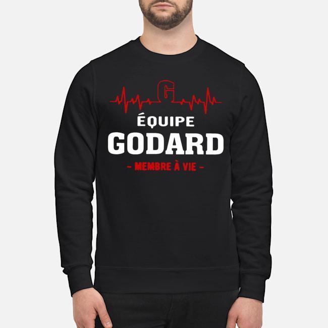 Équipe Godard Membre À Vie Sweater