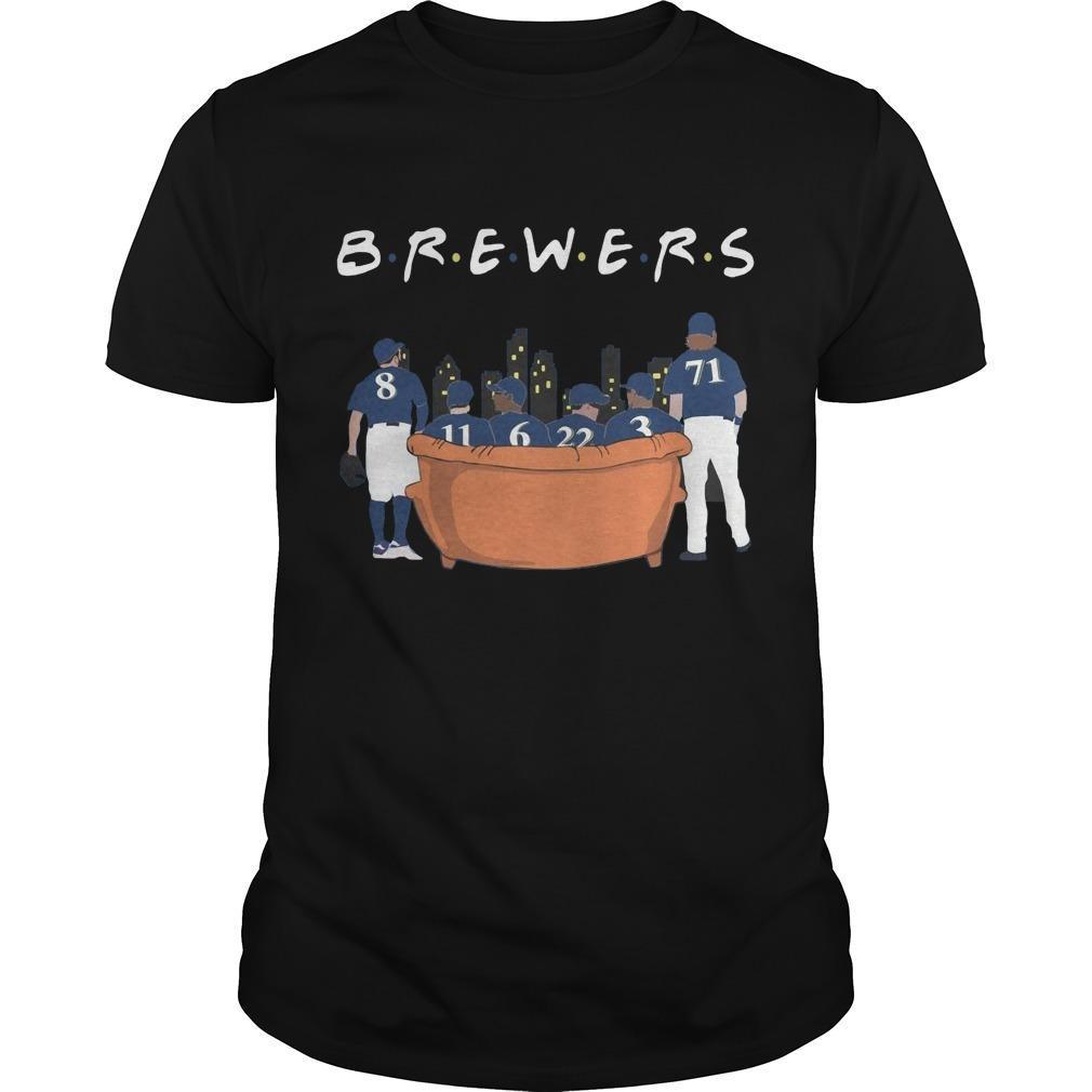 Friends Tv Show Milwaukee Brewers Shirt