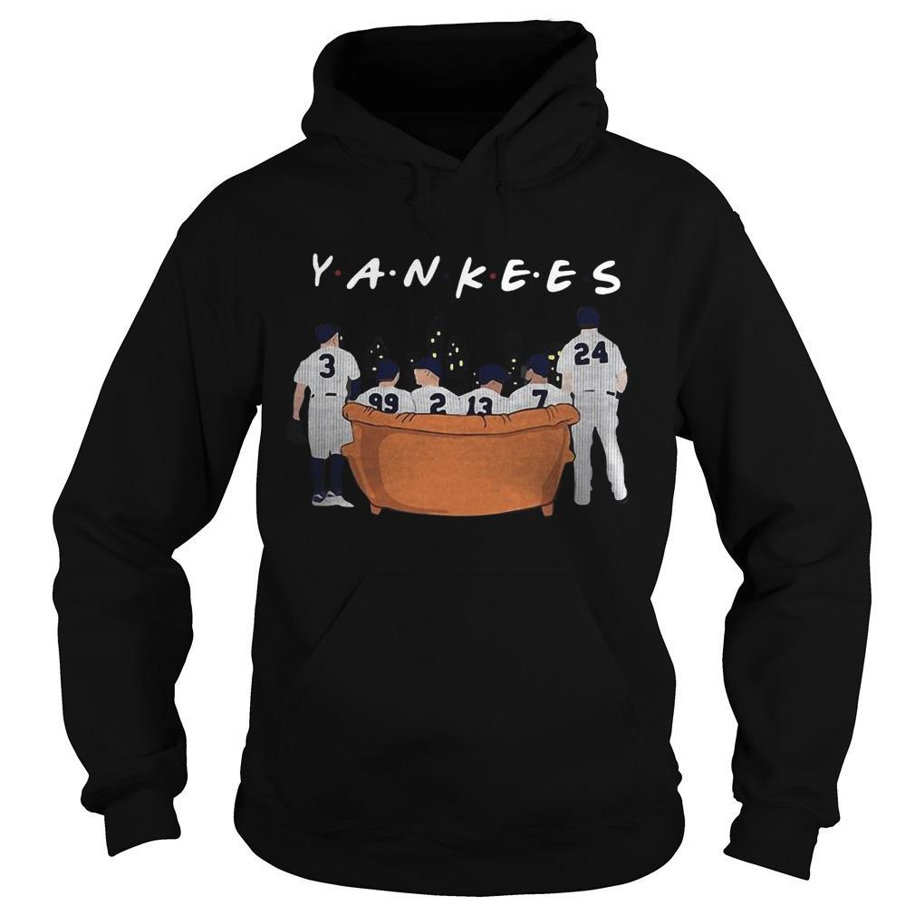 Friends Tv Show NY Yankees Hoodie