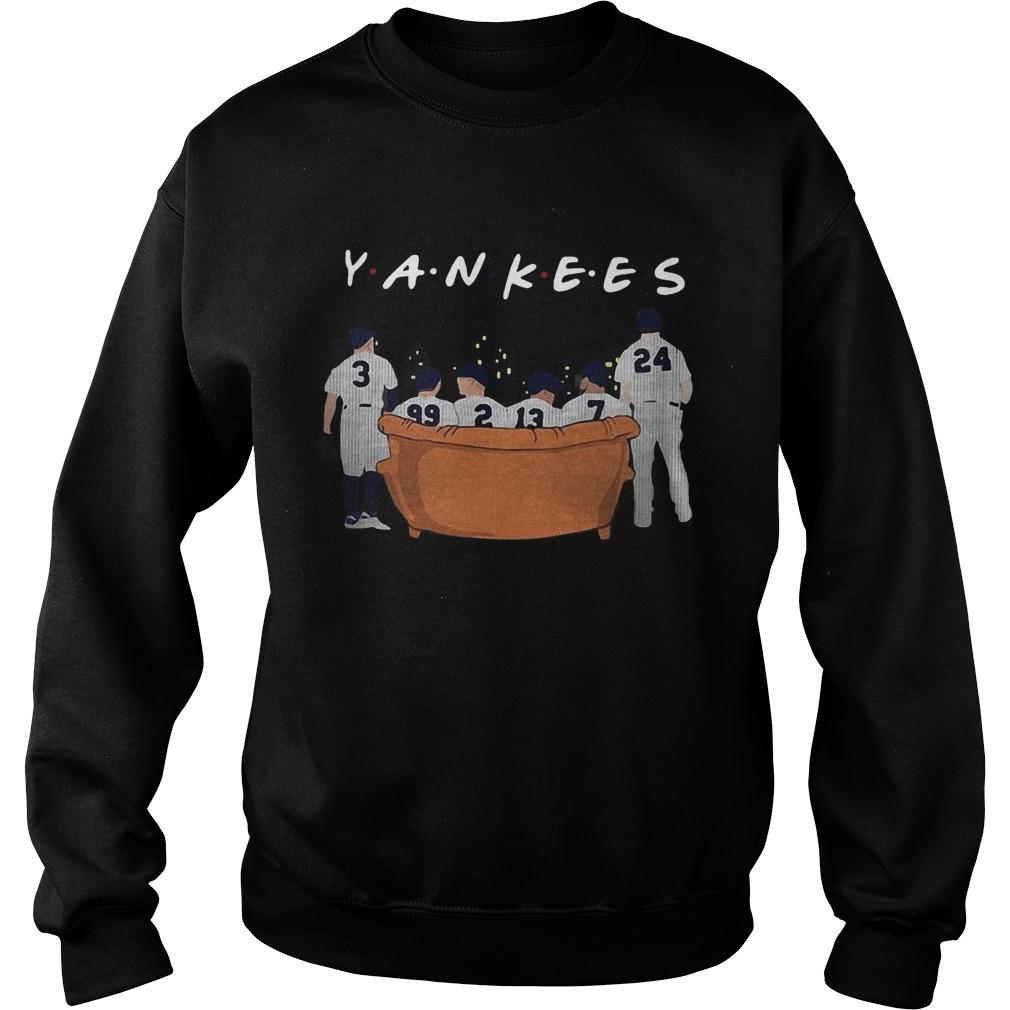 Friends Tv Show NY Yankees Sweater