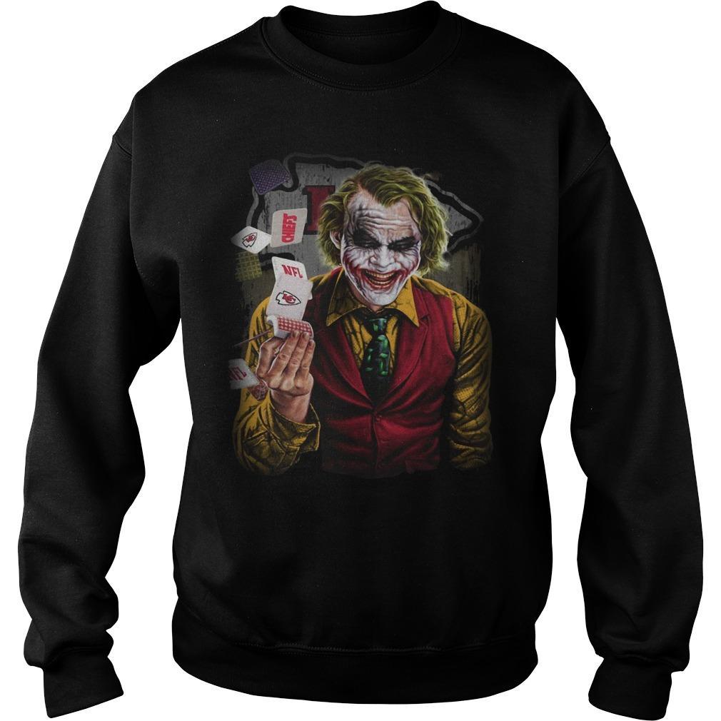 Kansas City Chiefs Poker Joker Sweater