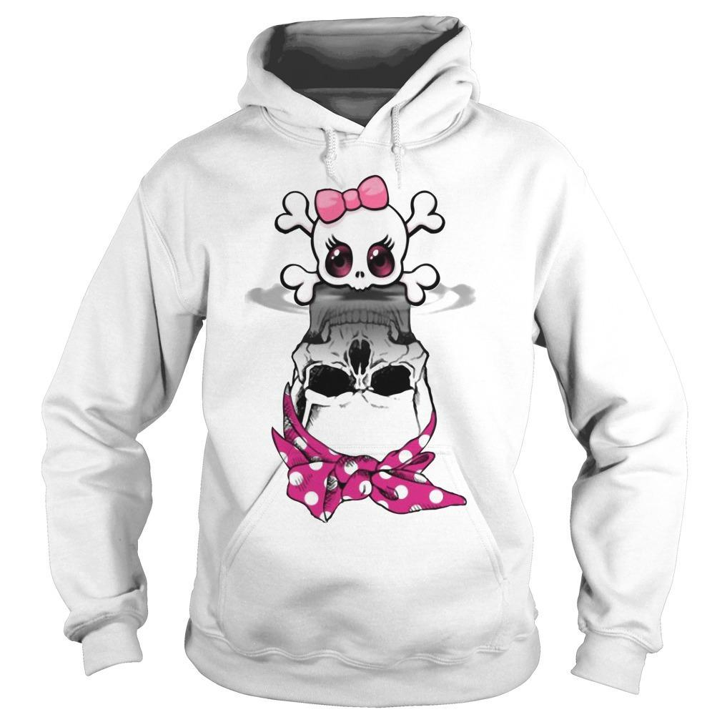 Lady Skull Water Reflection Hoodie