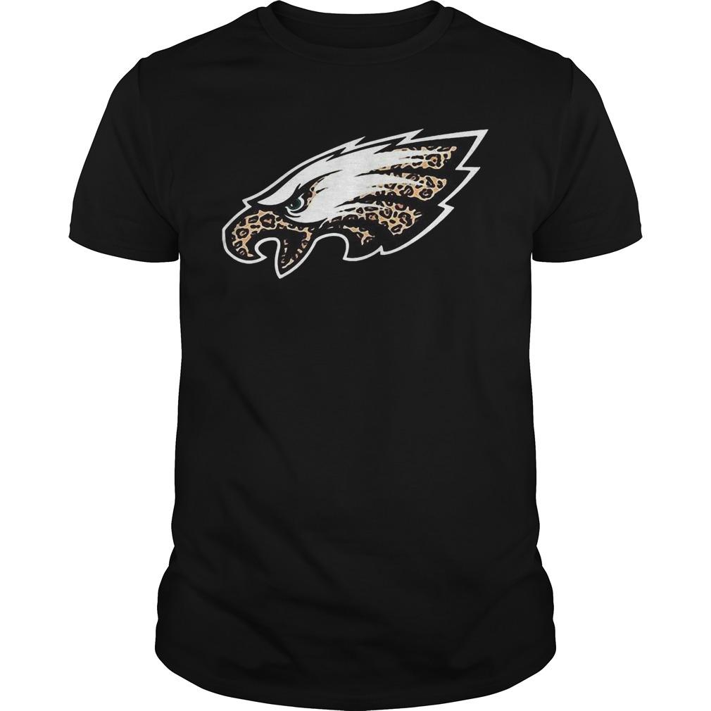 Leopard Layer Philadelphia Eagles Logo Shirt