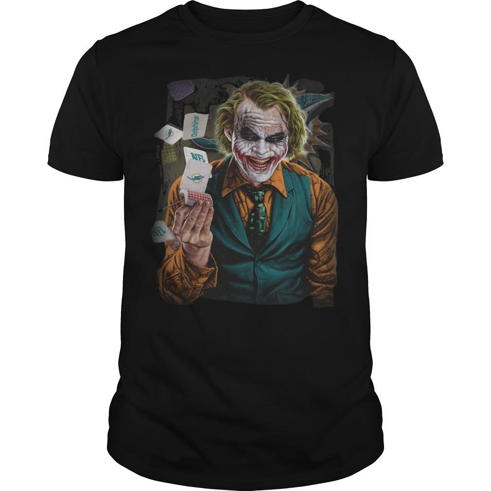 Miami Dolphins Poker Joker Shirt