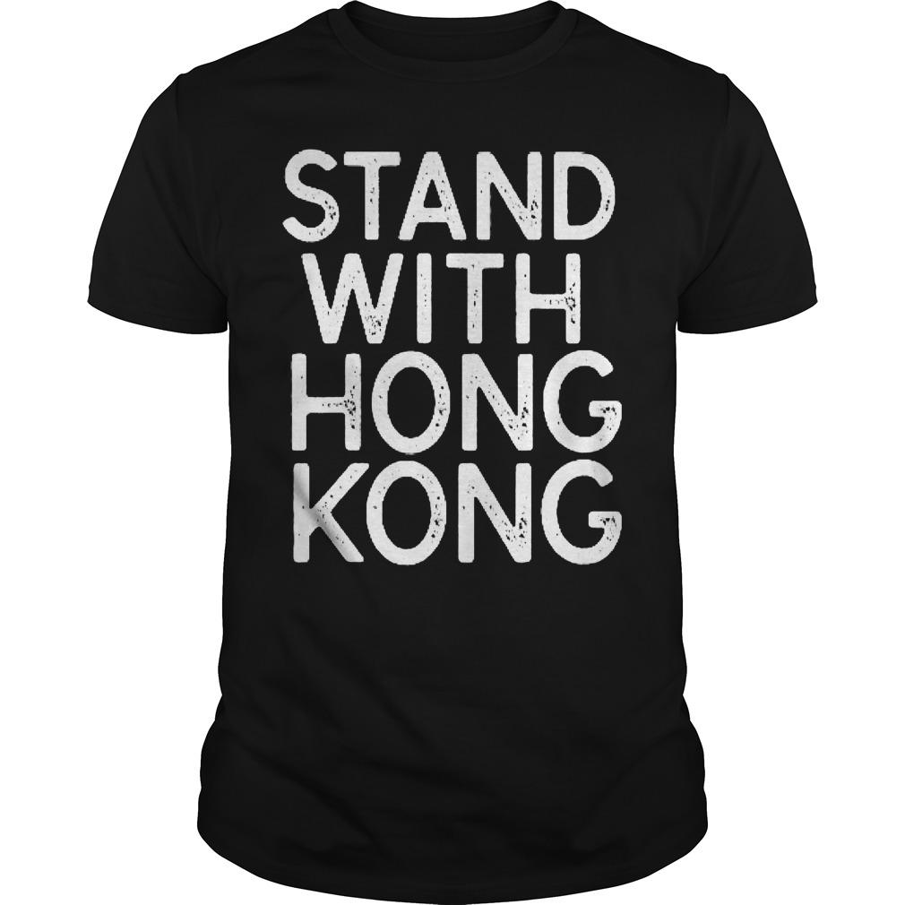 NBA Opening Night Stand With Hong Kong T Shirt