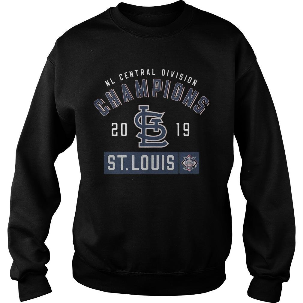 Nl Central Division Champions 2019 St Louis Sweater