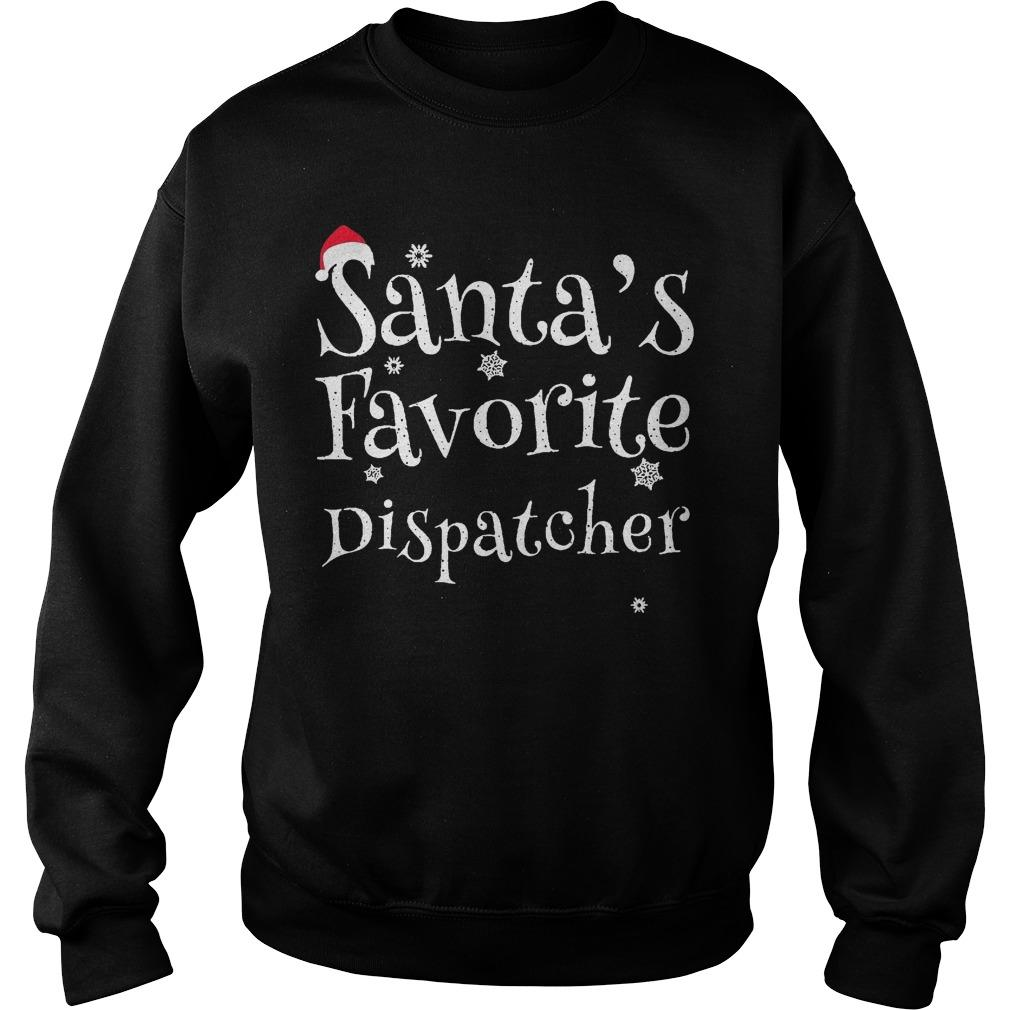 Santa's Favorite Dispatcher Sweater