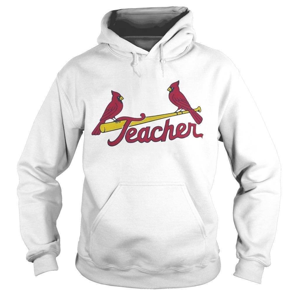 St Louis Cardinals Teacher Hoodie