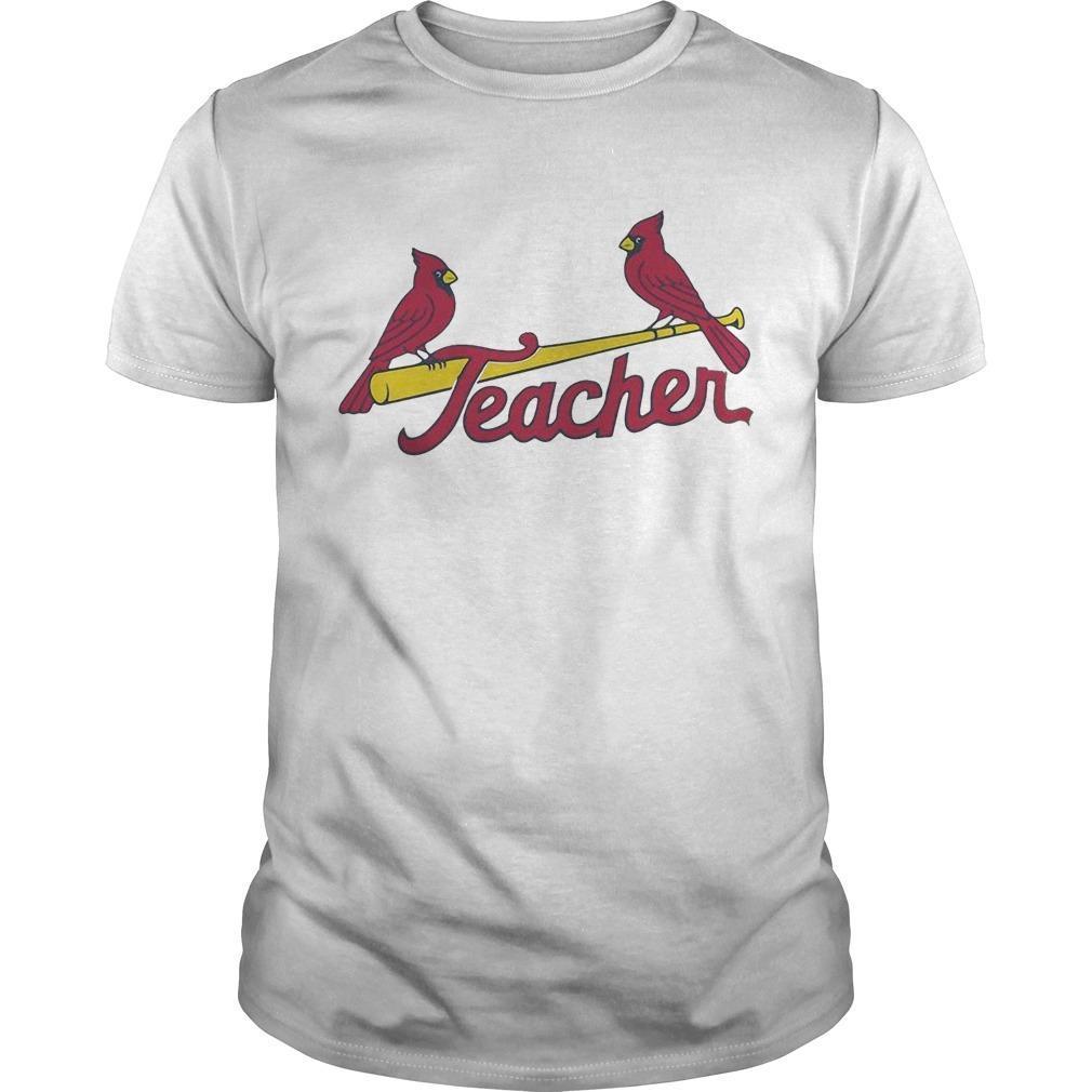St Louis Cardinals Teacher Shirt