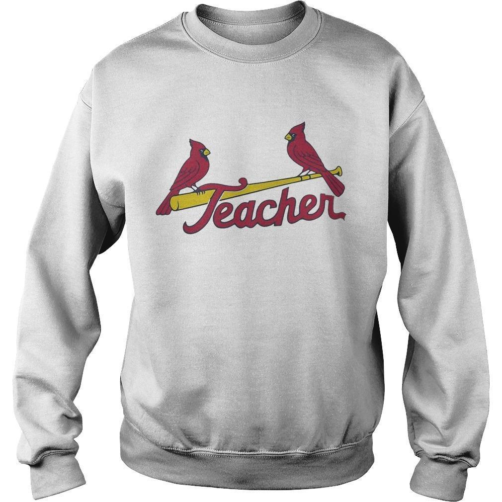 St Louis Cardinals Teacher Sweater