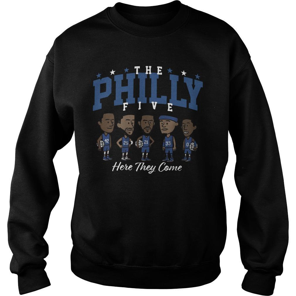 The Philly Five Here They Come Sweater