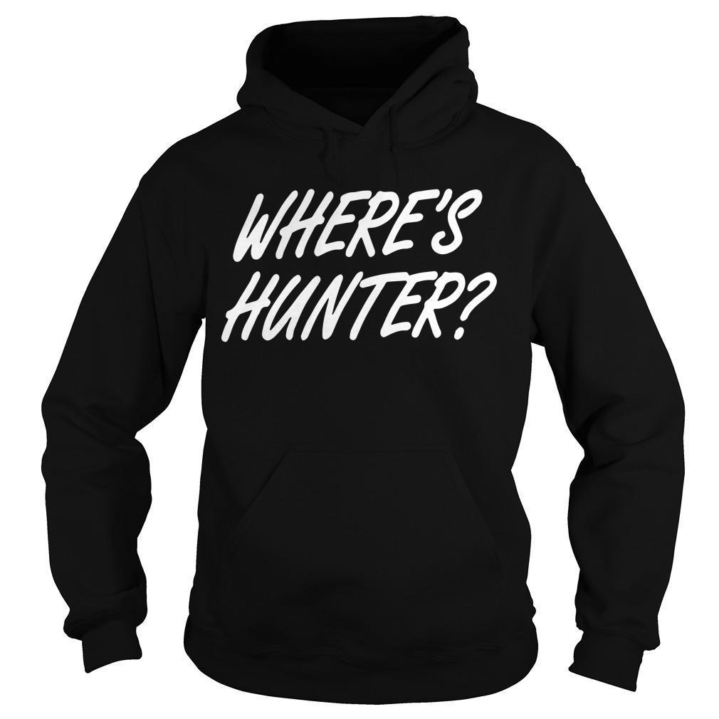 Wheres Hunter Tee Hoodie