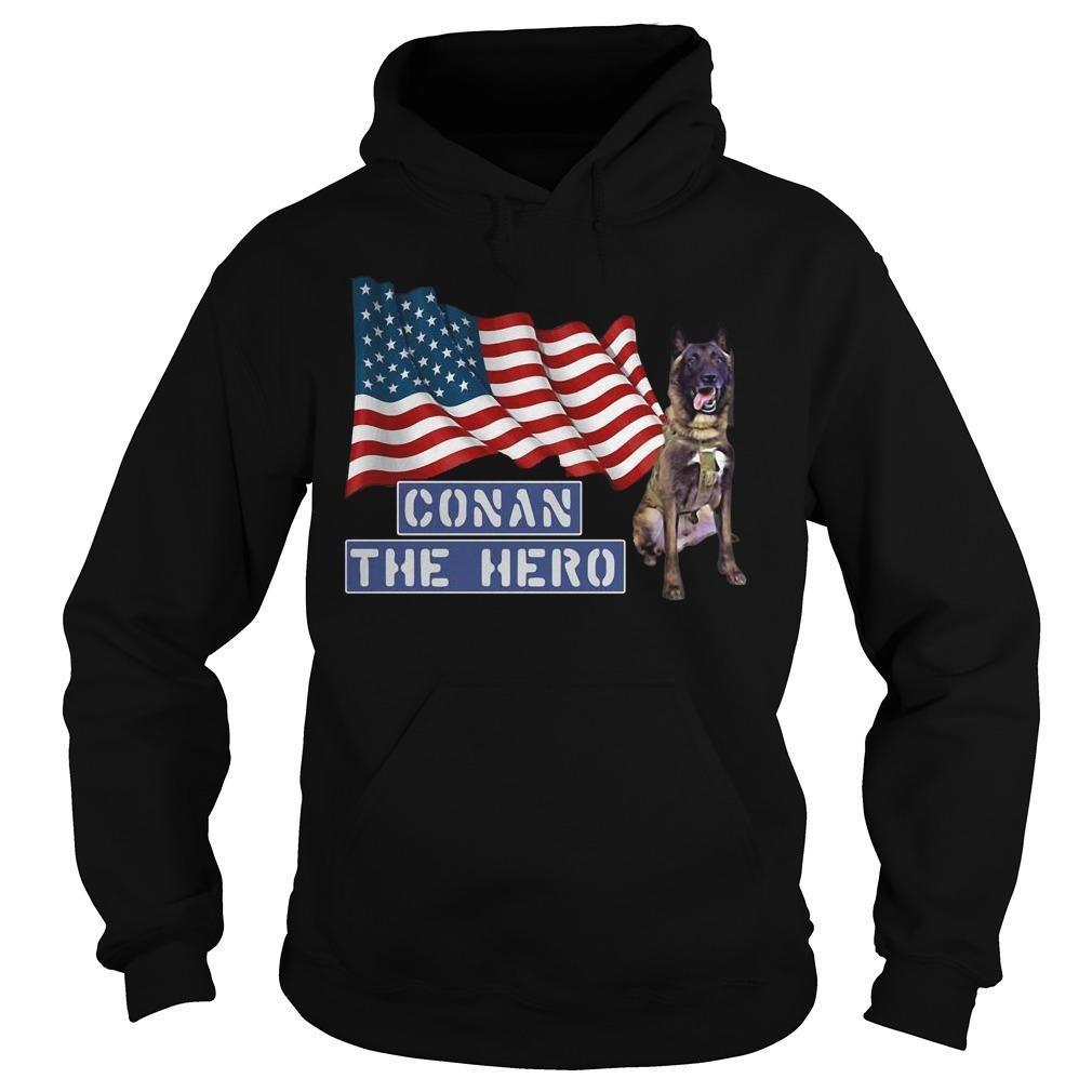 American Flag Zero Bark Thirty Conan The Hero Hoodie