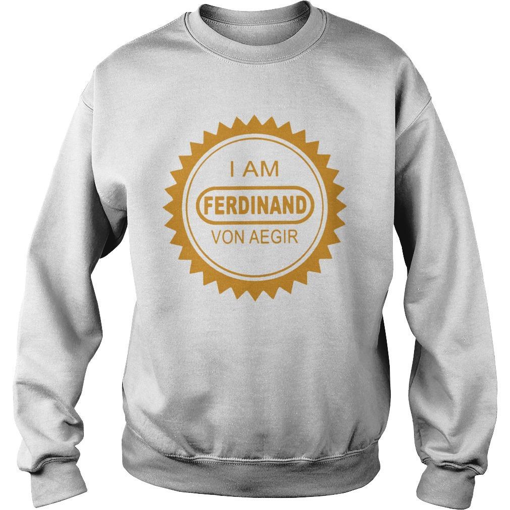 Billy Kametz I Am Ferdinand Von Aegir Sweater
