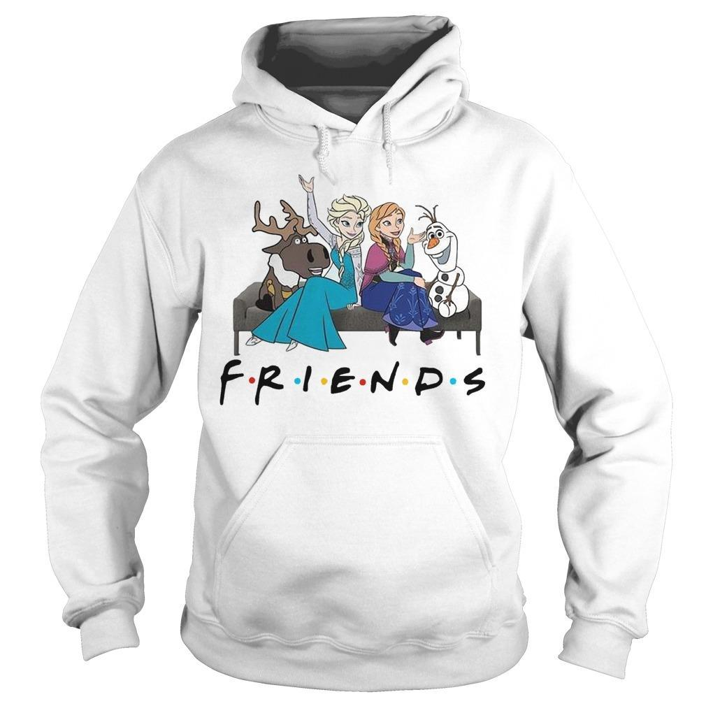 Frozen Elsa Anna And Olaf Friends Hoodie