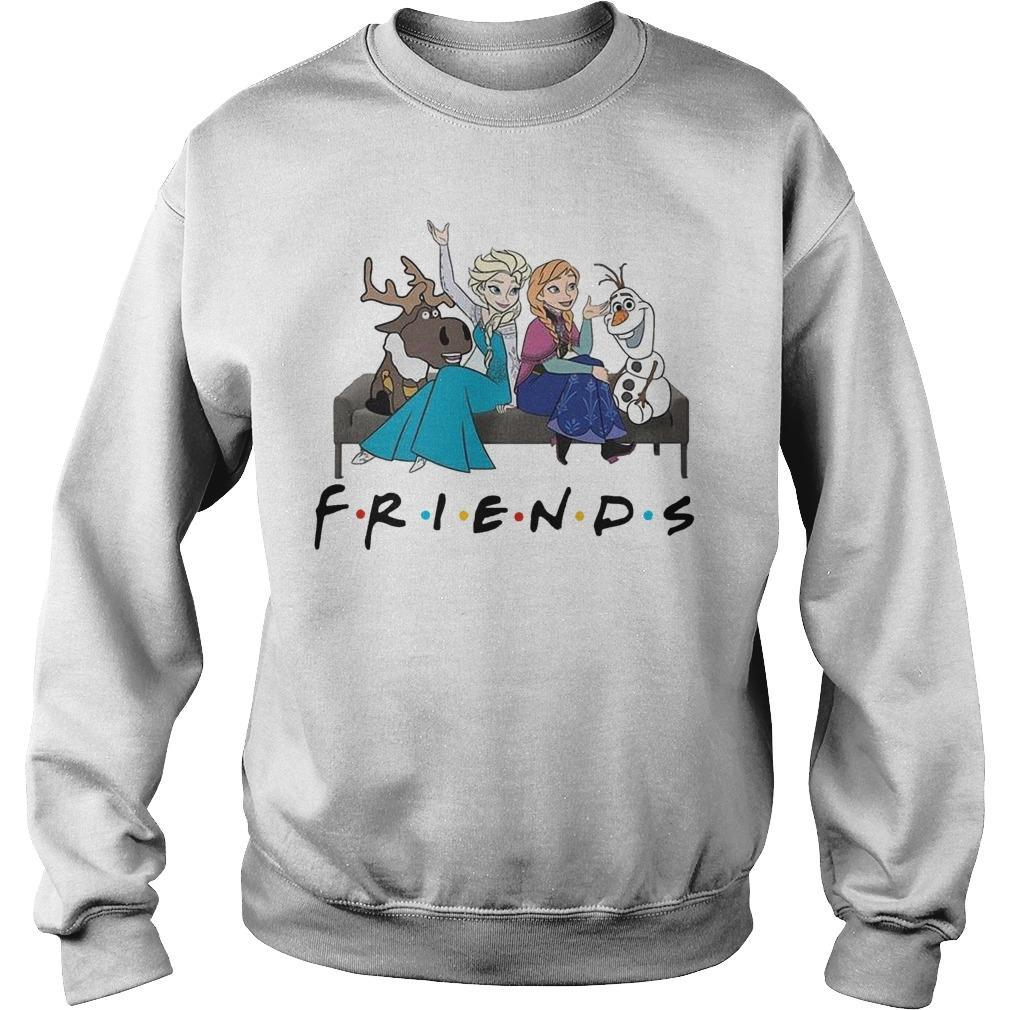 Frozen Elsa Anna And Olaf Friends Sweater