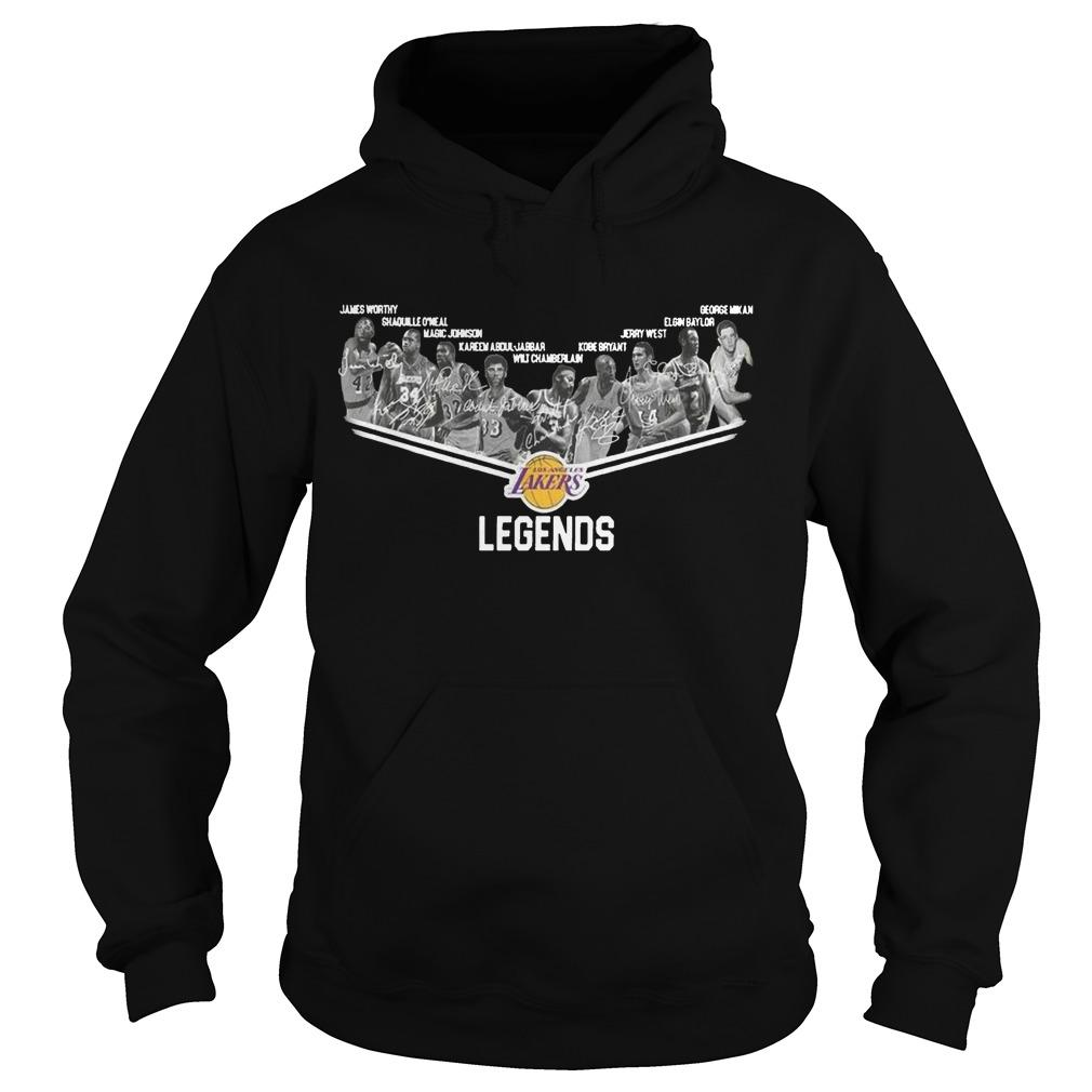 Los Angeles Lakers Legends Hoodie