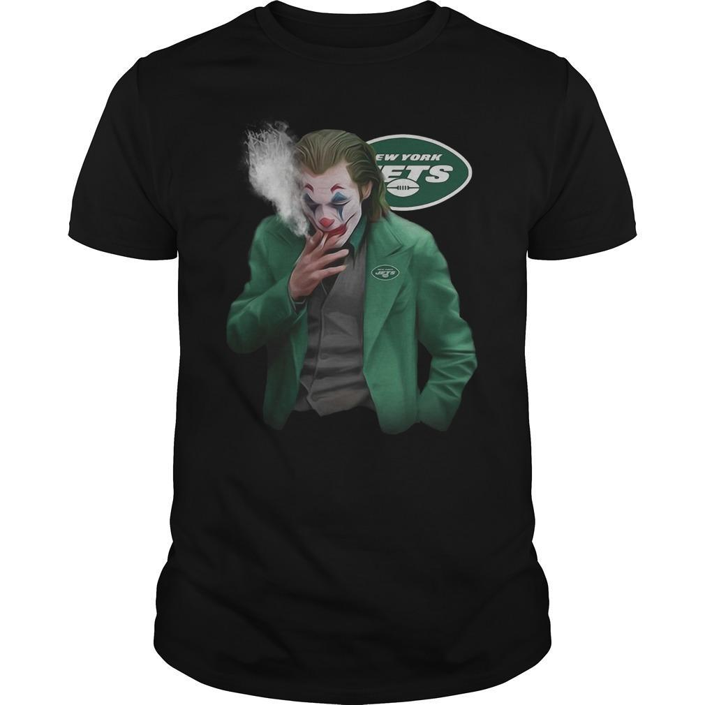 New York Jets Joker Smoking Shirt