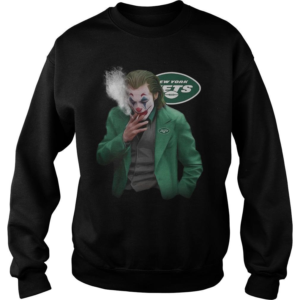 New York Jets Joker Smoking Sweater