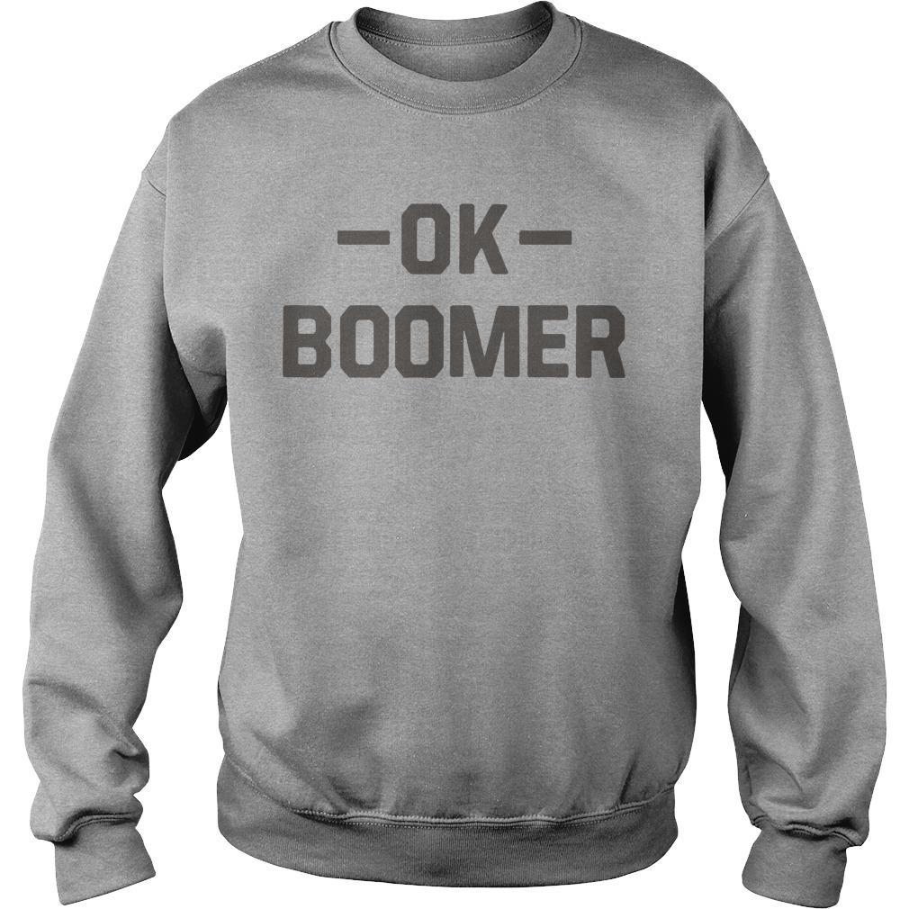 Rochester Crazy Dog Ok Boomer Sweater