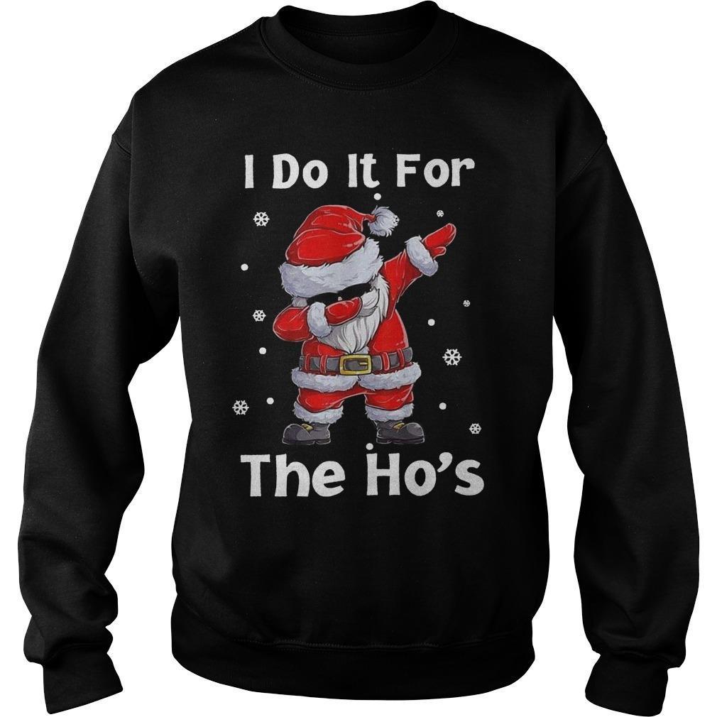 Santa Dabbing I Do It For The Ho's Sweater