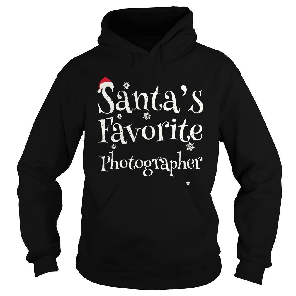 Santa's Favorite Photographer Hoodie