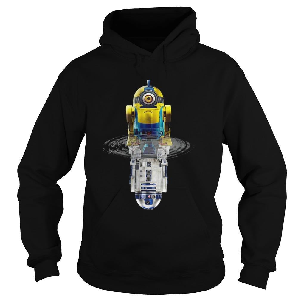 Star Wars Minions R2D2 Water Reflection Hoodie