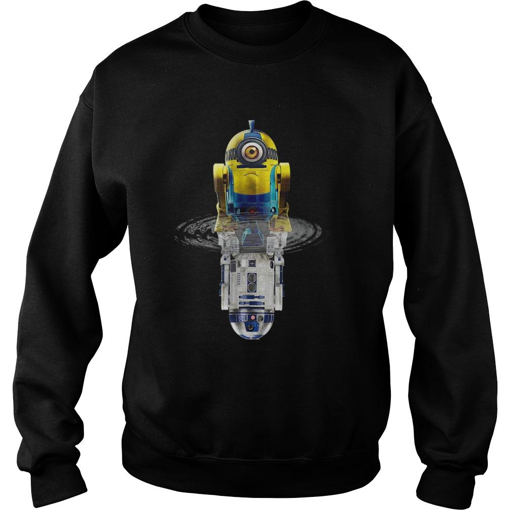 Star Wars Minions R2D2 Water Reflection Sweater