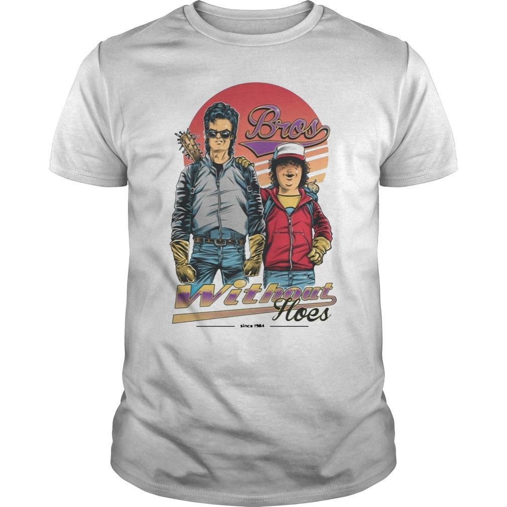 Steve And Dustin Bros Without Hoes Stranger Things T Shirt