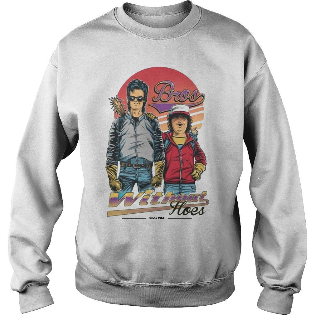 Steve And Dustin Bros Without Hoes Stranger Things T Sweater