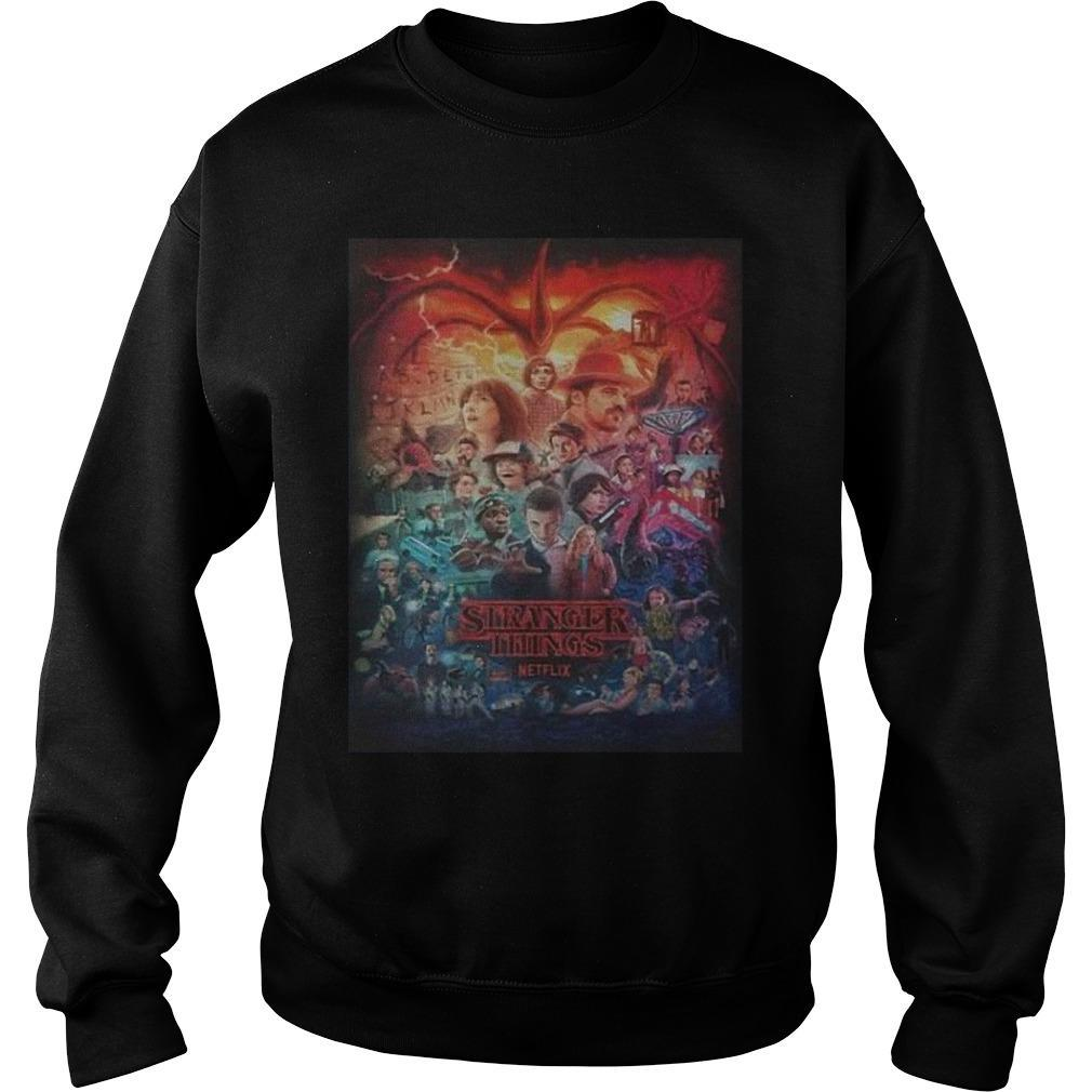 Stranger Things Day T Sweater