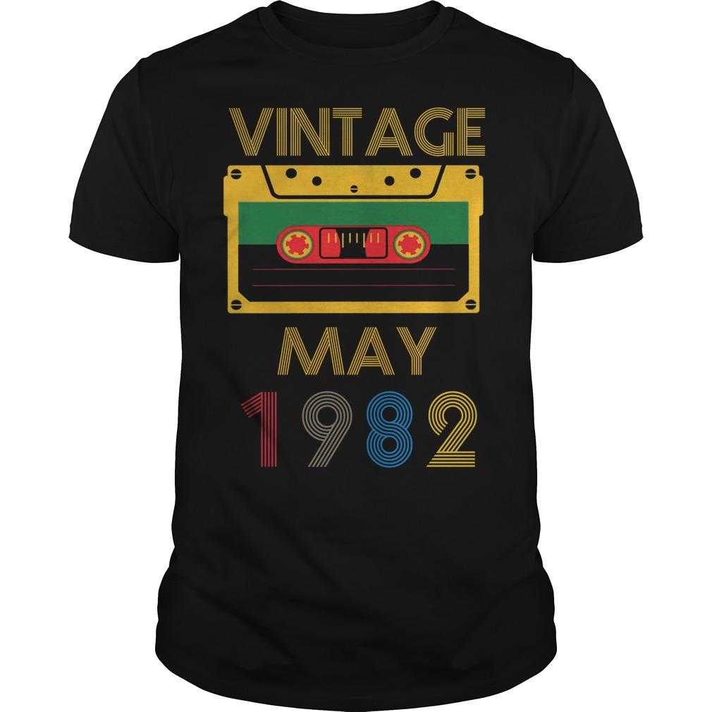 Video Tape Vintage May 1982 Shirt