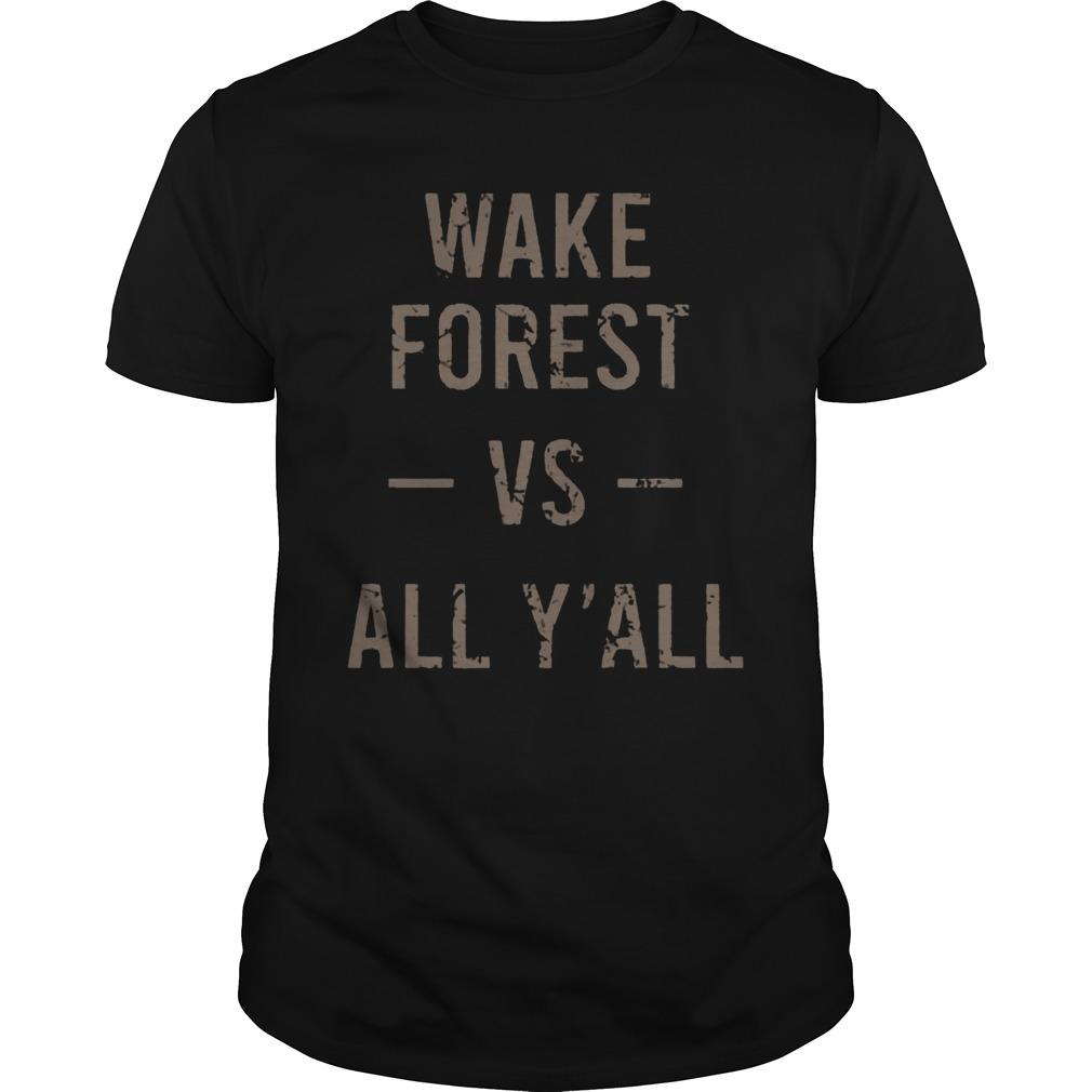 Wake Forest Vs All Y'all Shirt