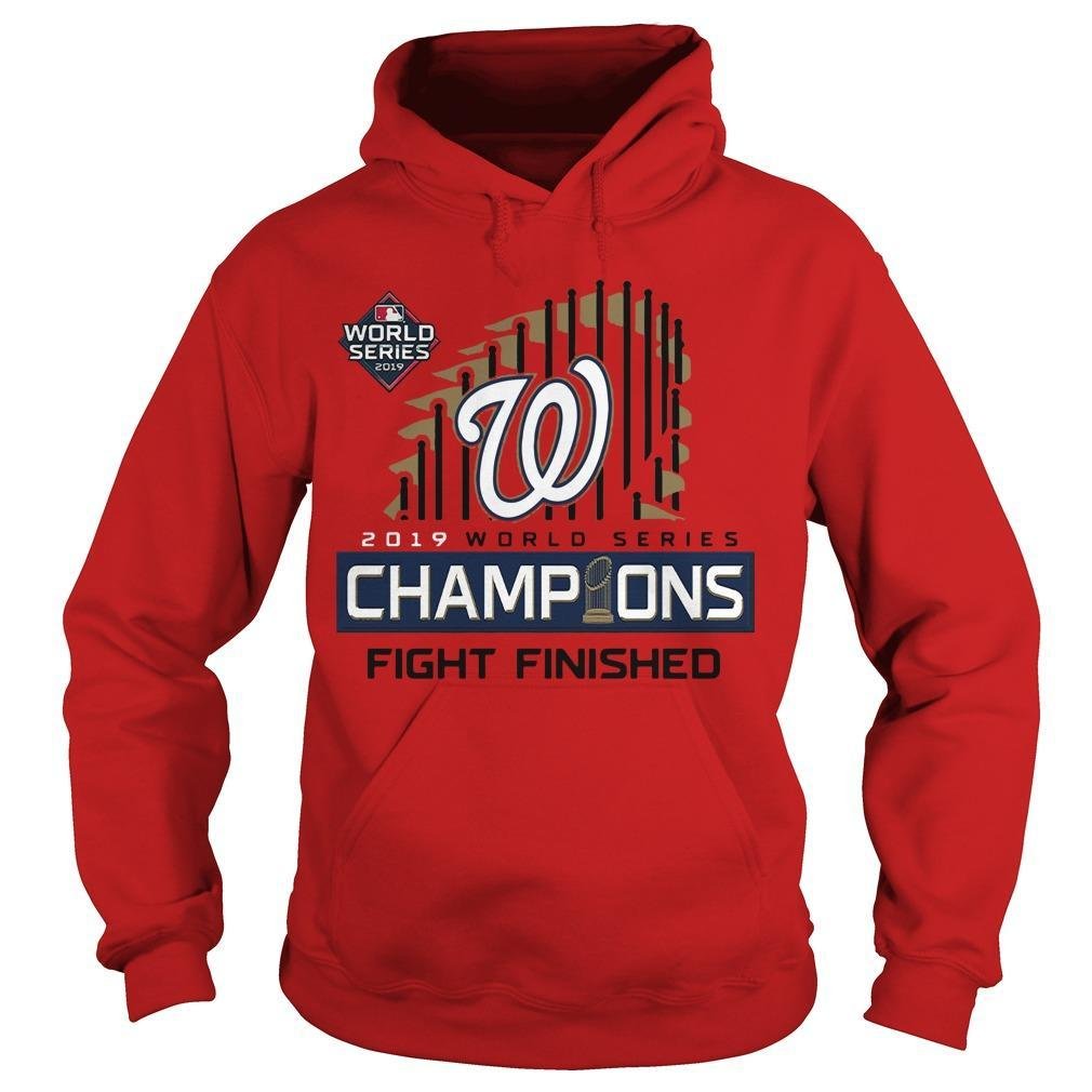 Washington Champions Fight Finished Hoodie