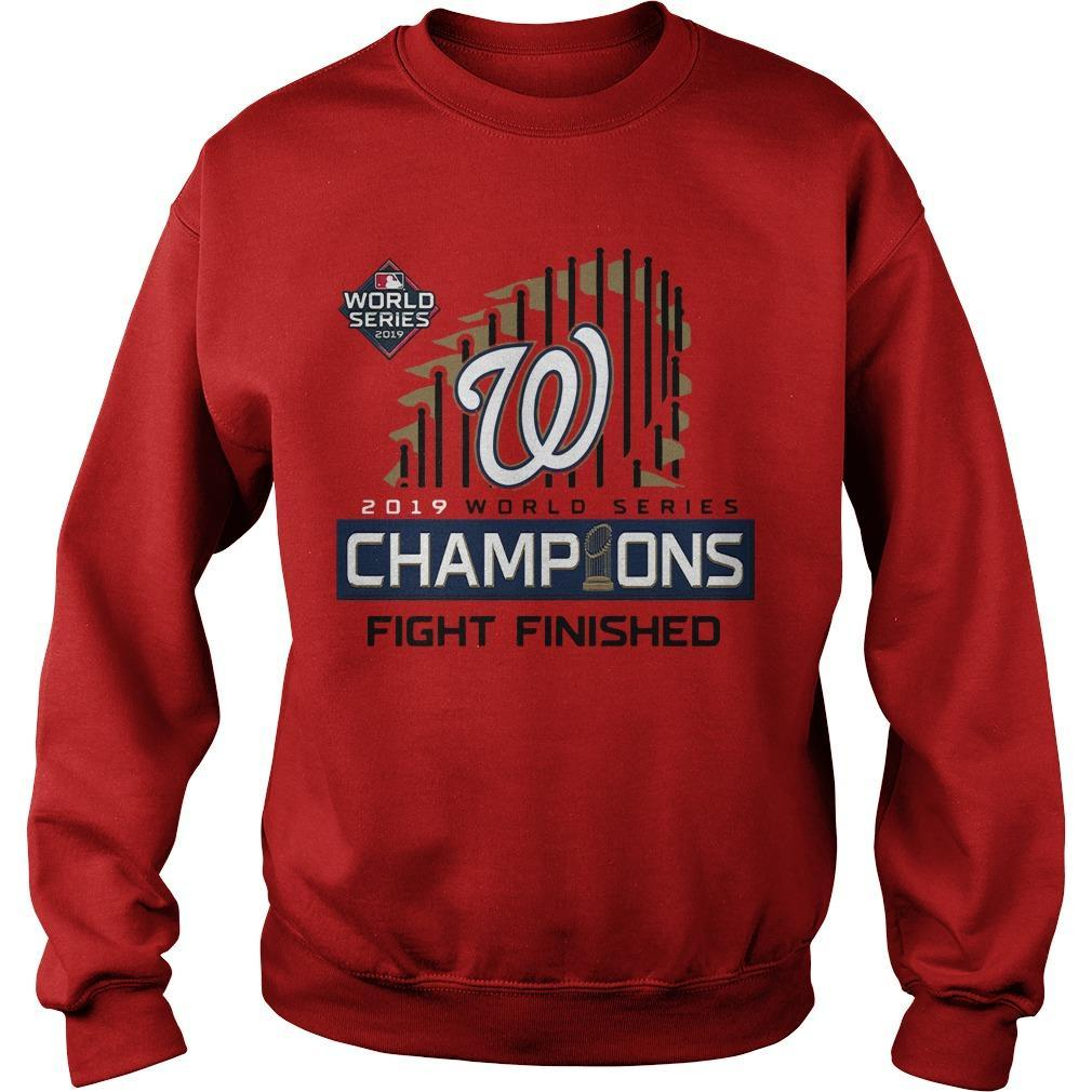 Washington Champions Fight Finished Sweater