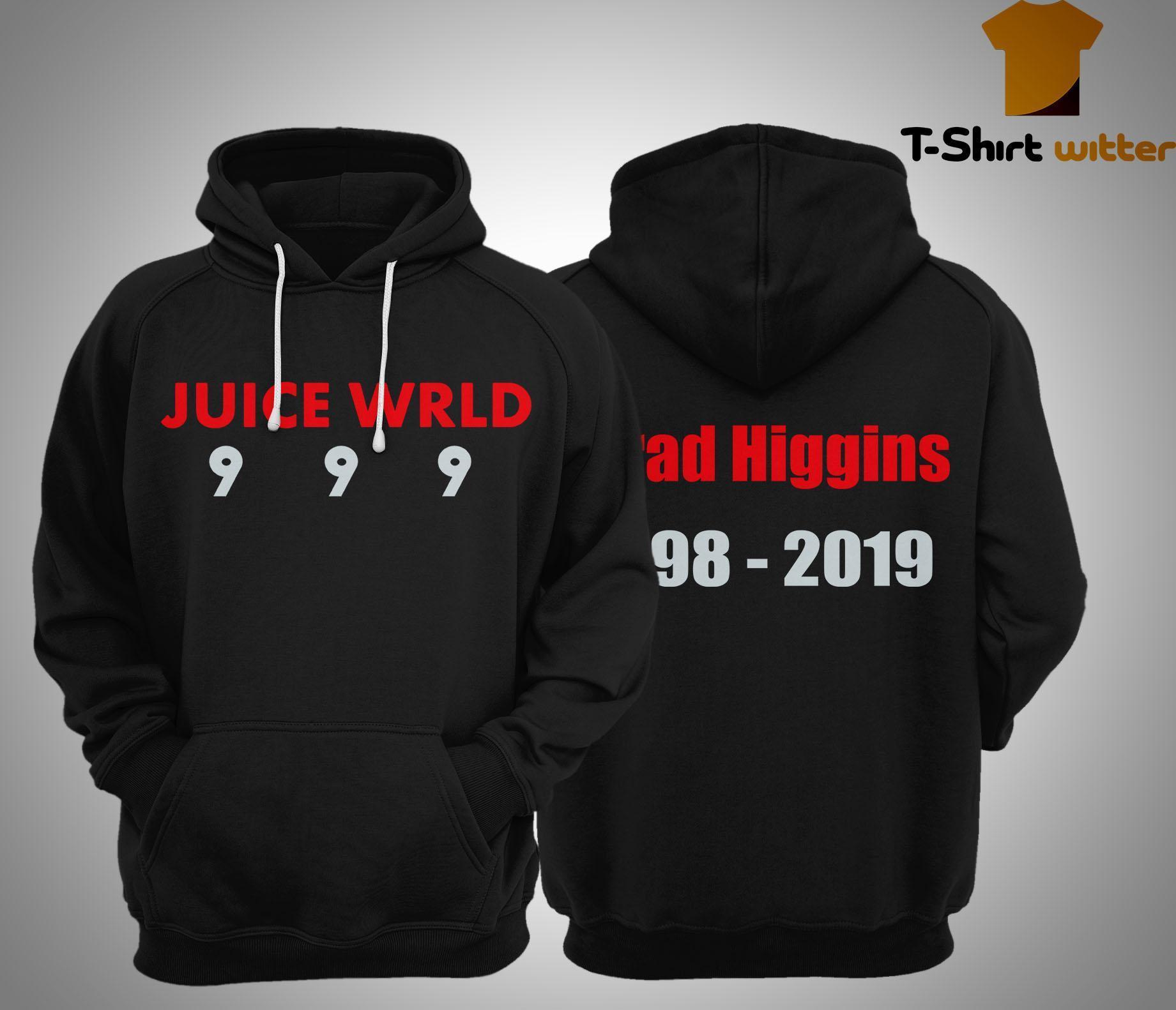 Jarad Higgins 1998 2019 Juice Wrld 999 Hoodie