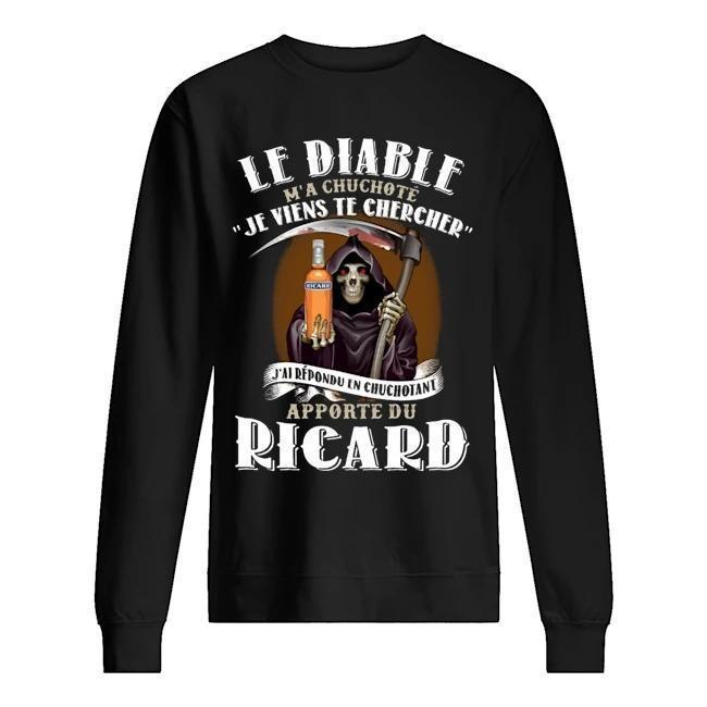 Le Diable M'a Chuchoté Je Viens Chercher J'ai Répondu Un Chochotante Sweater