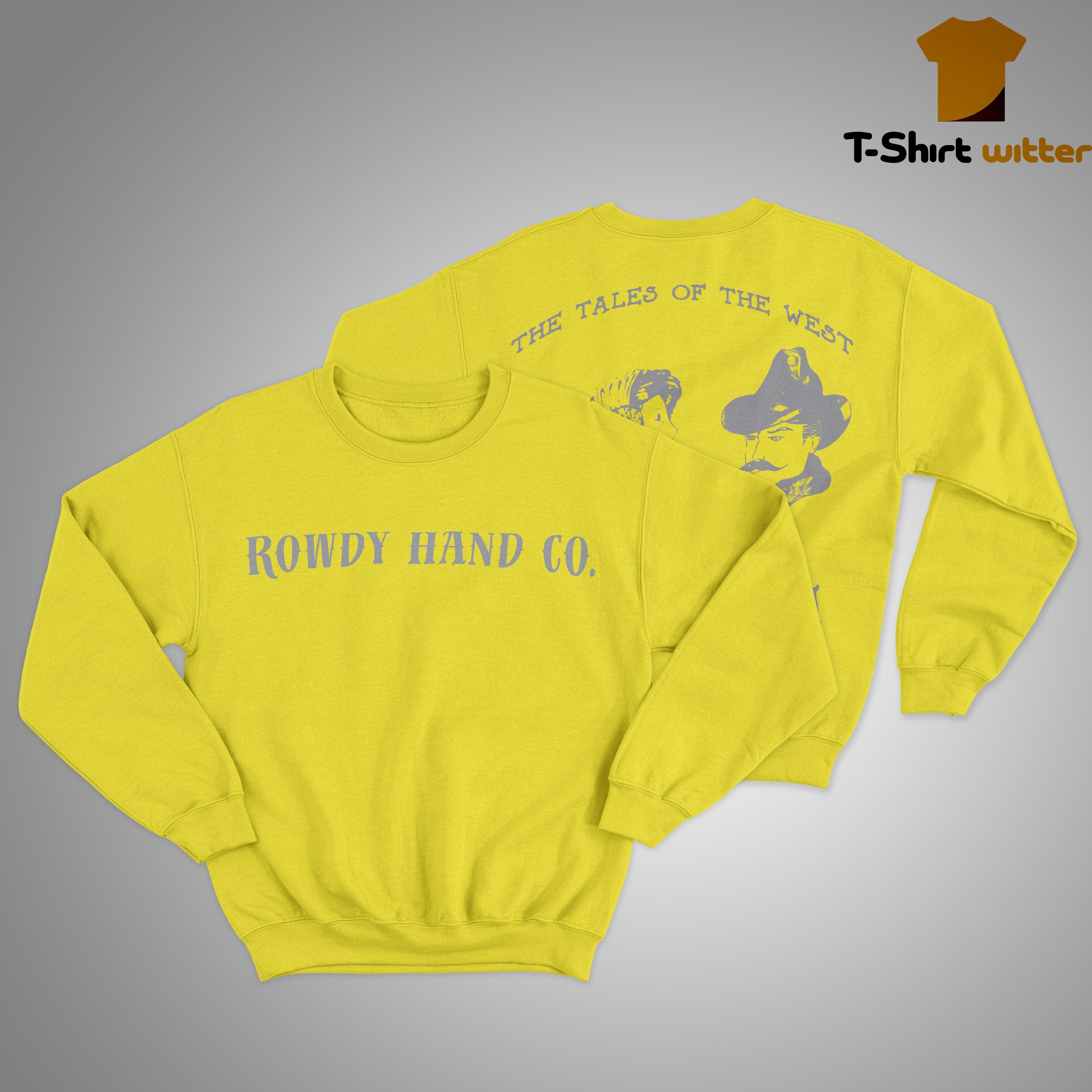 Rowdy Hand Co The Tales Of The West Sweater