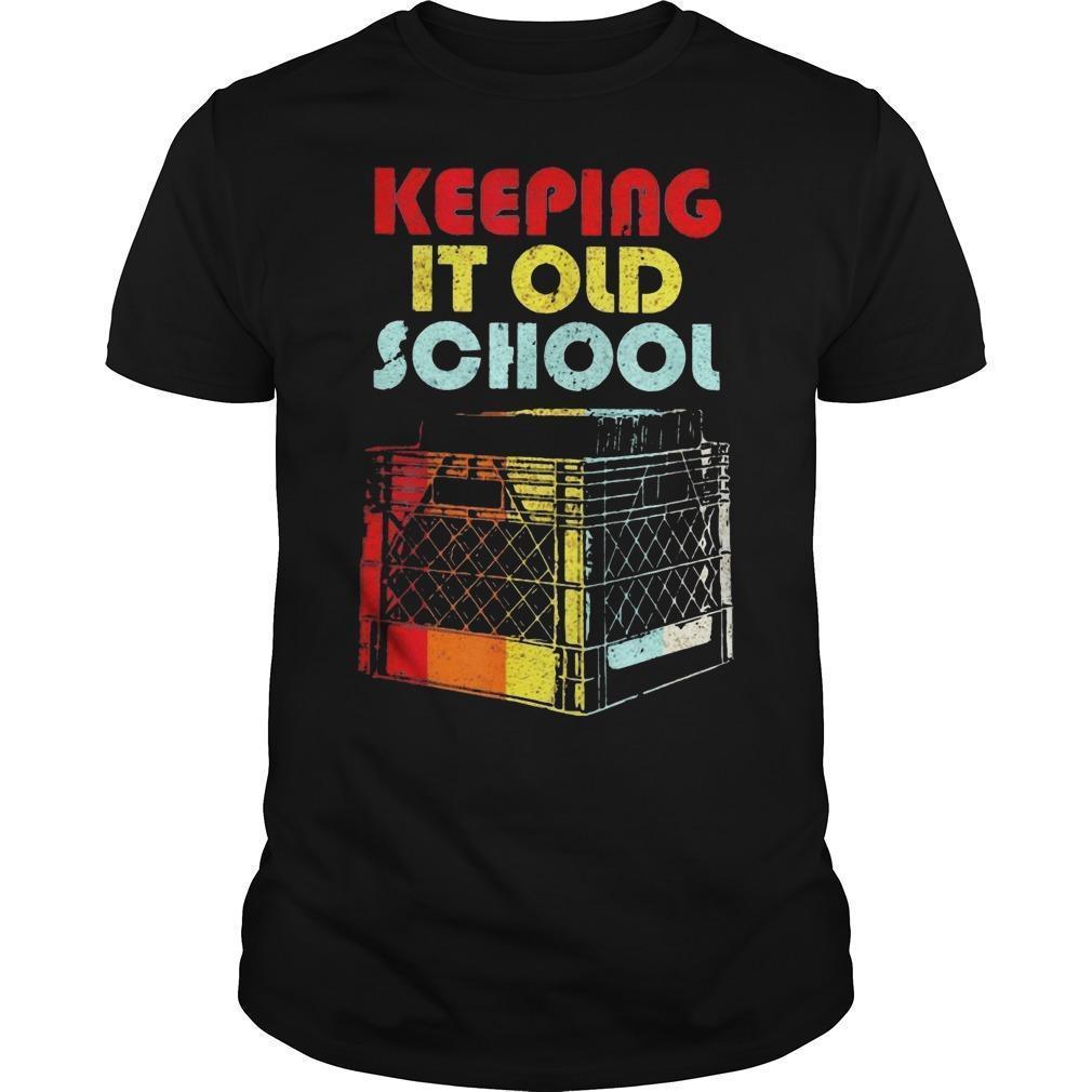 Dj Keeping It Old School Shirt