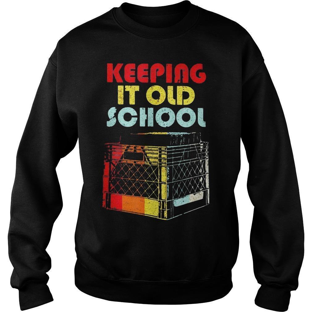 Dj Keeping It Old School Sweater
