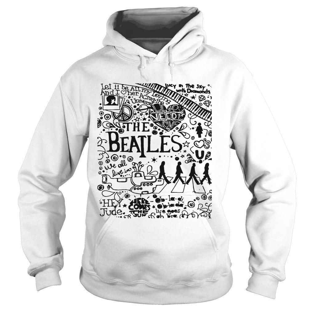 Let It Be All My Loving The Beatles Hoodie