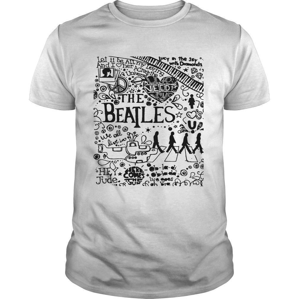 Let It Be All My Loving The Beatles Shirt
