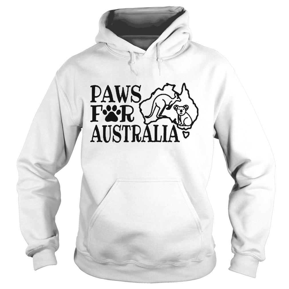 Paws For Australia Hoodie