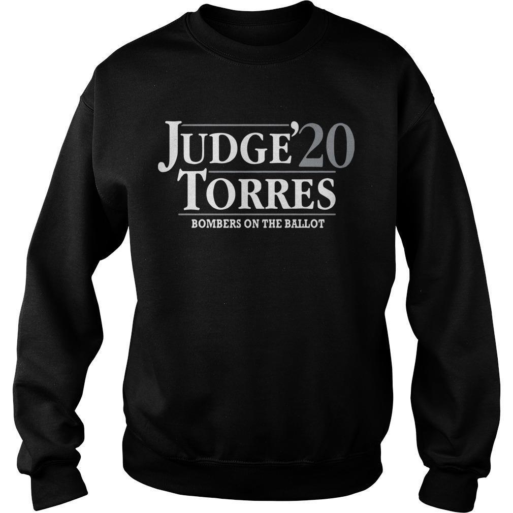 Judge Torres 20 Bombers On The Ballot Sweater