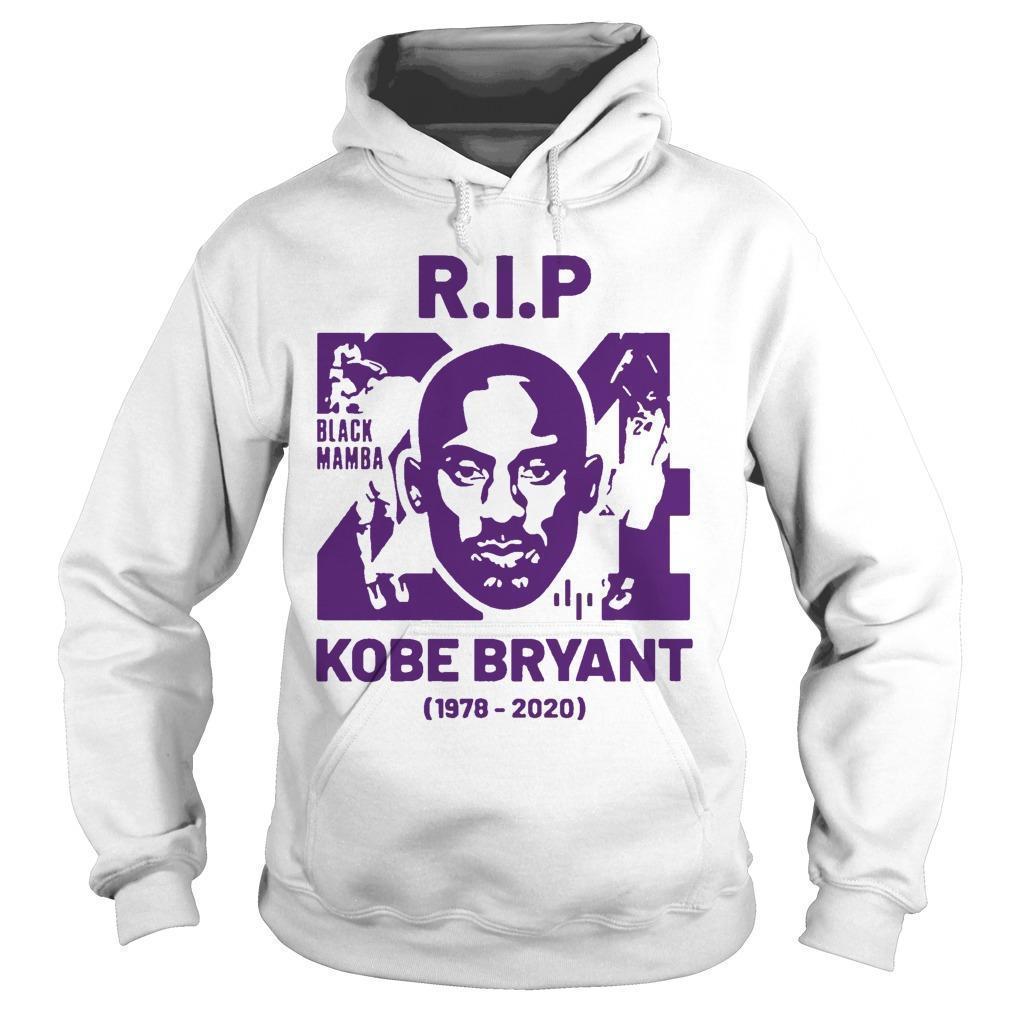 Rip Kobe Bryant 24 Black Mamba 1978 2020 Hoodie