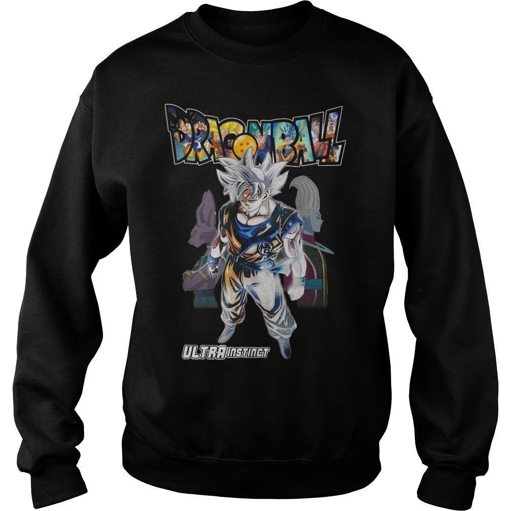 Son Goku Dragon Ball Ultra Instinct Sweater