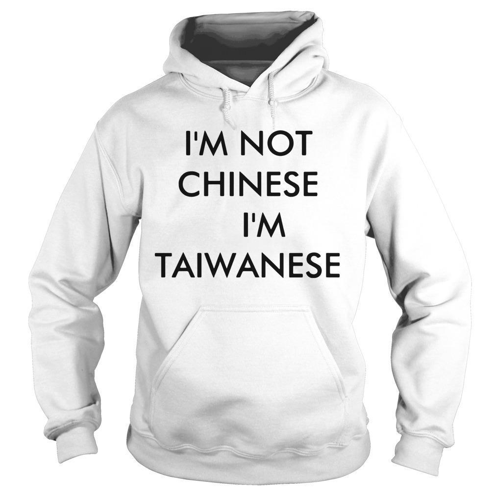 Racist I Am Not Chinese T Hoodie