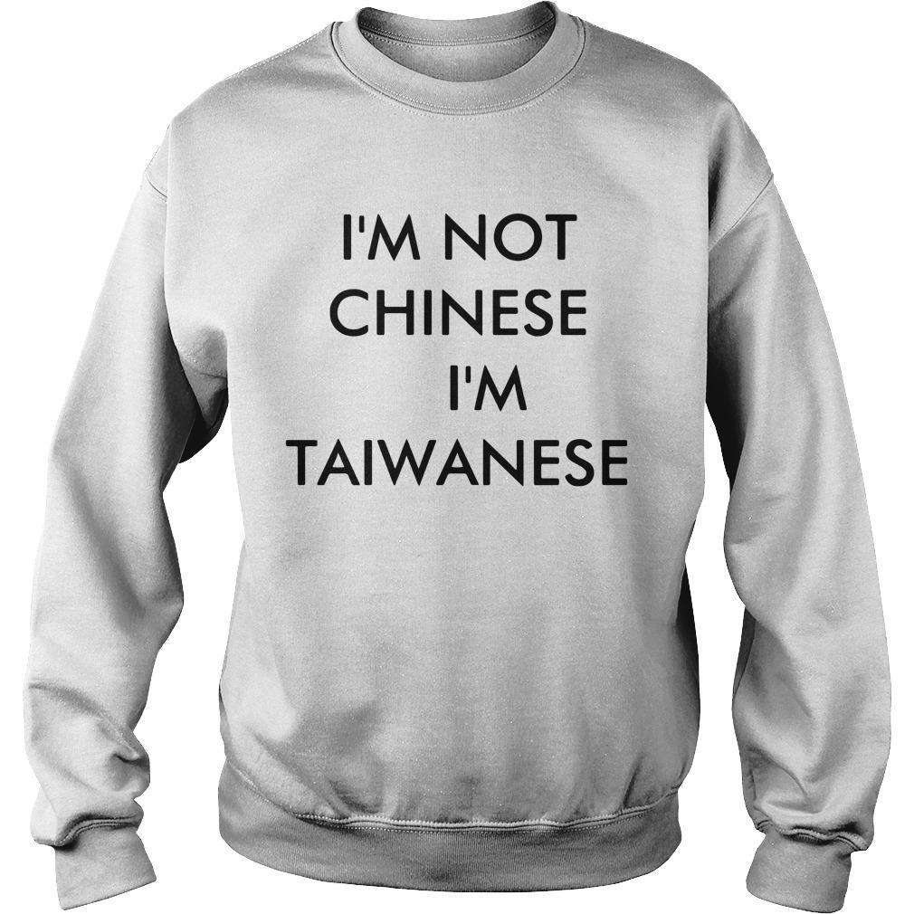 Racist I Am Not Chinese T Sweater